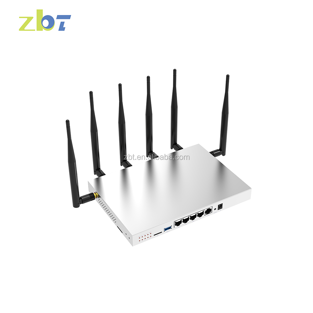 WHOLESALE 1200Mbps usd3.0 sd gigabit openwrt multi frequencies 4g wireless wifi router