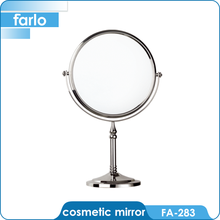 FARLO round stand makeup table large magnifying mirror