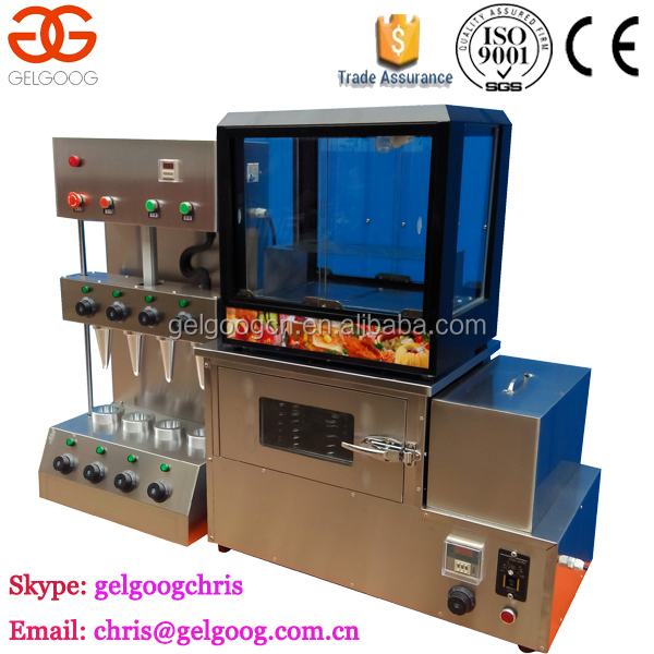 Kono Pizza Cone Baking Machine/Cone Pizza Making Machine/Cone Pizza Oven