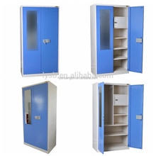 Attractive design steel wardrobe stroage cabinet