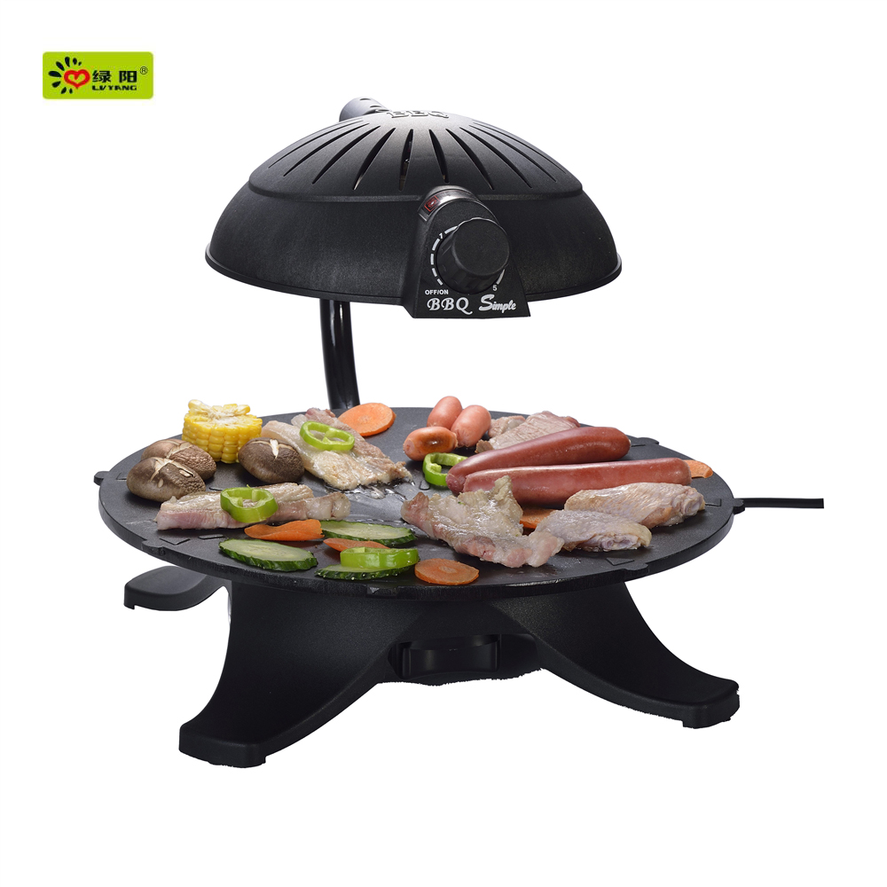 2016 new arrivals smokeless infrared indoor bbq baking grill/cyprus grill bbq