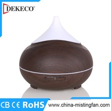 New Innovation Product Wood Aroma Diffuser Glass Essential Oil Diffuser