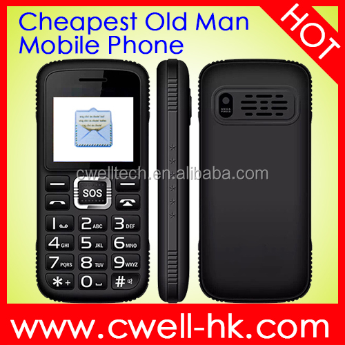 Senior W30 Low Price Old Man Mobile Phone with Big Battery Long Standby