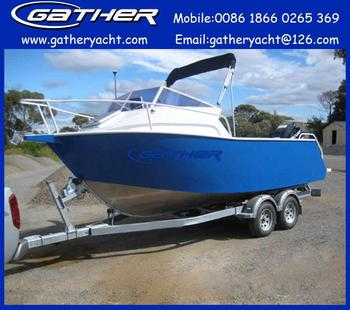 New designed aluminum fishing boat