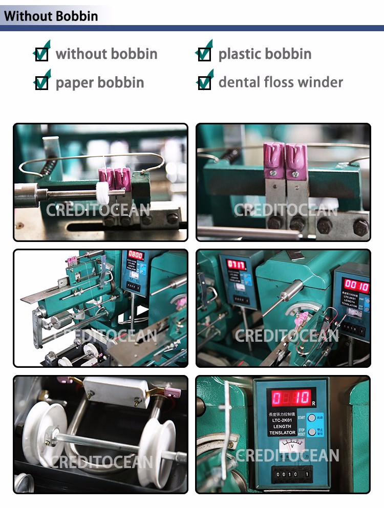 6 spindles sewing thread winding machine
