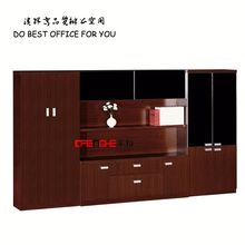wooden filling cabinet with 4 doors / cheap metal bedroom dressing cupboard design DH301