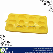 Fruit shape(banana,apple,strawberry,watermelon,pineapple) silicone chocolate mold,ice cube tray,cake mold CK-SL642