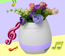 2017 New product music flowerpot creative smart music pots can sing the music