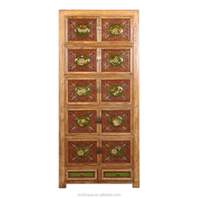 wholesale antique furniture china antique solid wood living room cabinet wardrobe furniture