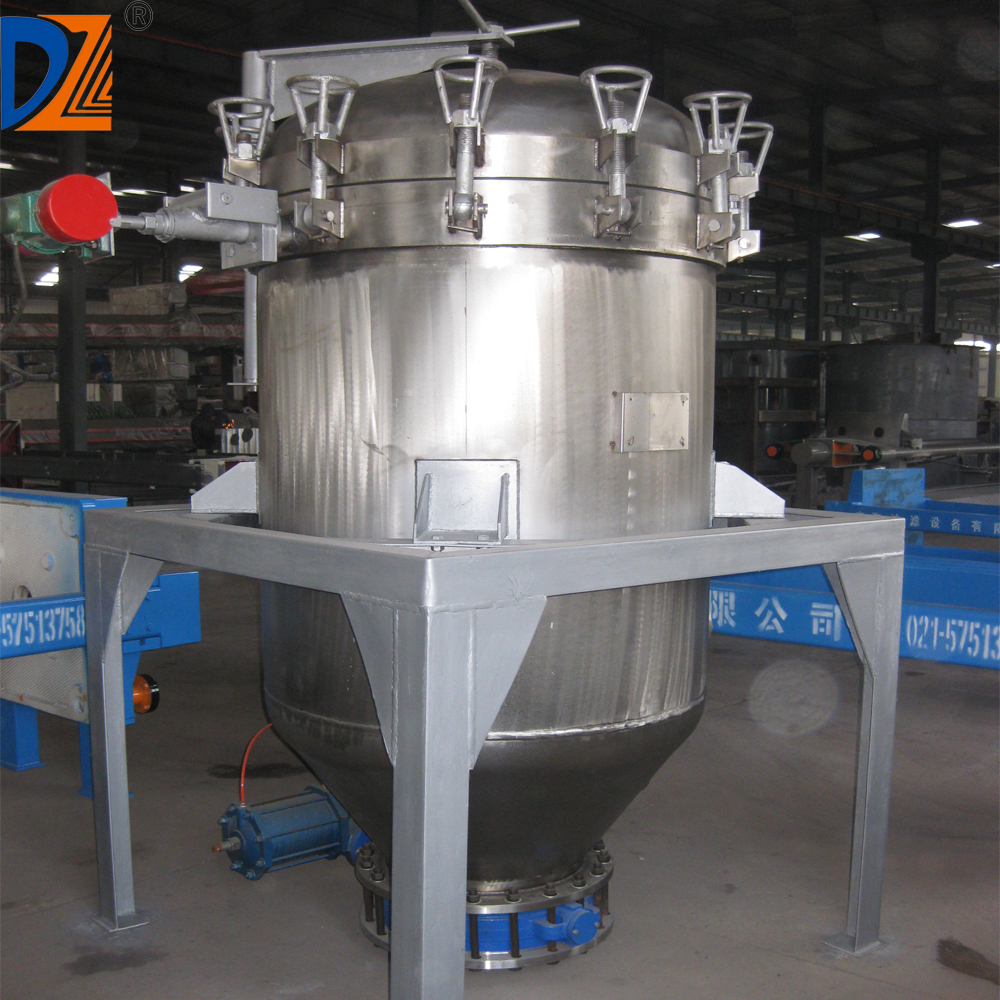 DZ Vertical Pressure Leaf Filter Equipment for Food Industry