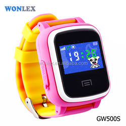 WONLEX 2016 CE/RoHS GPS Small Size Mobile Phones Hand Watch Mobile Phone Price Wholesale