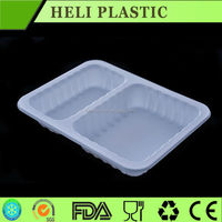 blister process vacuum forming biodegradable plastic food tray lunch container