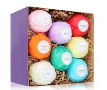 BF056 Bath Bomb Gift Set Kit Best bath fizzy bombs