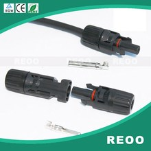 REOO MC4 Male Female Solar Panel PV Cable Connectors Junction box