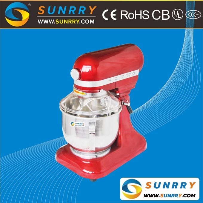 Commercial Multifunction Mini Stand Mixer with Rotating Bowl