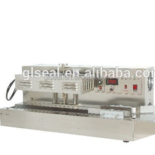 Continuous Heat Band Sealer,Plastic Film Heat Sealing Machine With Date Coding