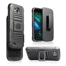 Cell phone accessories 3 in 1 holster combo kickstand case for samsung galaxy A7 2017