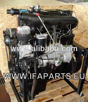 IFA W50 Engine and Parts