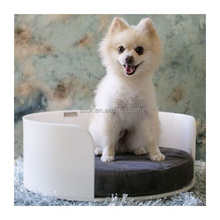 Shenzhen Export PMMA Clear Dog Bed Luxury Pets Bed Acrylic Bed