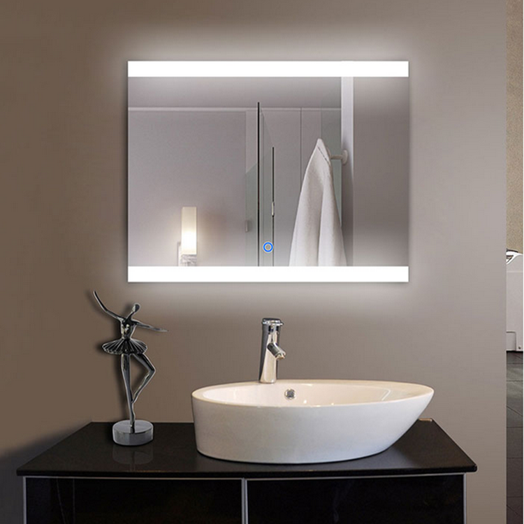 Bathroom Touch Screen Led Smart Backlit Mirror with TV and Bluetooth Functions