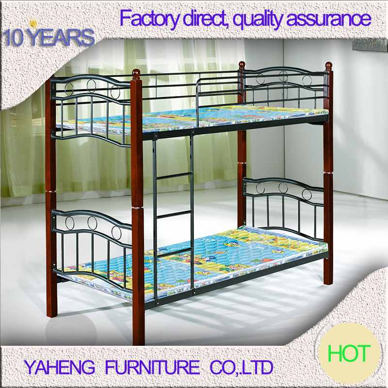 Popular space saving metal double sofa bunk bed for sale