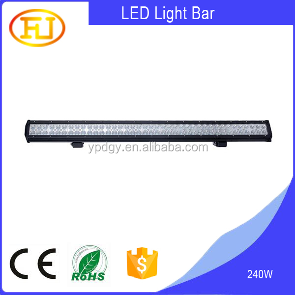 42inch Waterproof 3W C ree LED light bar c ree 240 w truck roof off road tractor light bar