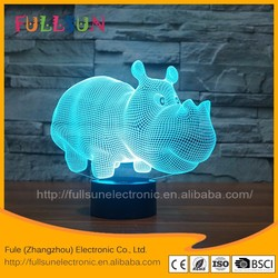 FS-3195 LED decorative lights for home 3d illusion lamp for decoration light