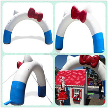 Lovely customized size inflatable wedding arches