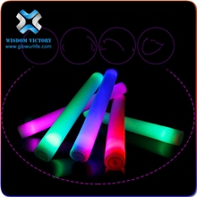 LED Foam Stick with 6 light models/LED Foam Flashing Light Stick/LED Foam Glow Sticks China Manufacturer