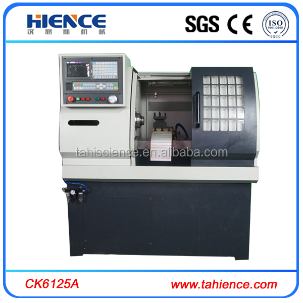 chinese metal small cnc precision lathe machine and function CK6125A