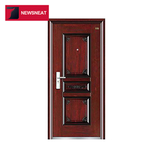 Top quality security exterior cheap China imports stainless steel door