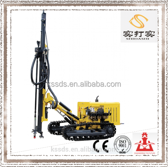 Mining and quarry equipment KG920B diesel engine crawler drilling rig machine