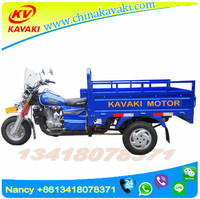 2017 KAVAKI best sale to sudan Three Wheel Cargo Motorcycles for Sale Lifan motorcycles sidecar