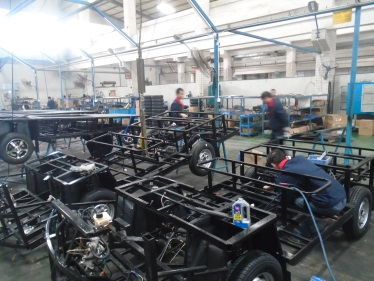Chassis assembling