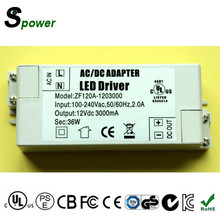 Dimmable LED Power Supply 30W 24V 1.25A LED Driver Constant Voltage for Downlight, Spot Lights and other LED Lights