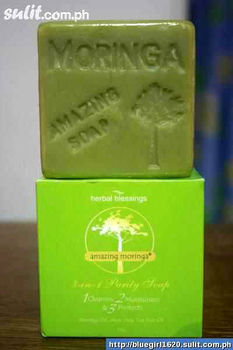 Moringa Purity Soap