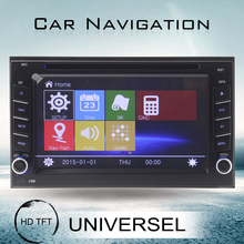 2 din autoradio for n issan universal car dvd 6.2 inch car dvd player with GPS DVD USB/SD AM/FM
