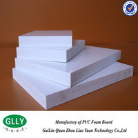 OEM order accepted chemical resistant waterproof pvc foam board with low price