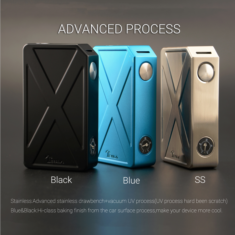 Excellent 2016 New Products Mod Tesla Invader III 240W TC Vape Unique Design & High Power Tesla Vape Kit
