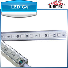 Top quality SMD5050 60LED IP68 Waterproof 14.4W DC 12V 24V 100cm Led light bar