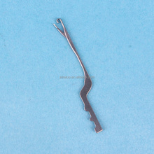 Raschel warp knitting spare parts latch needle 44.75G02