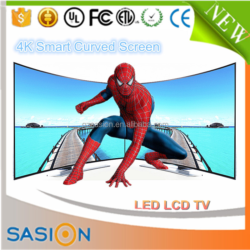 3d curved led smart main board panorama lcd tv parts