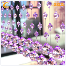 High quality factory outlets purple crystal balls with home decoration