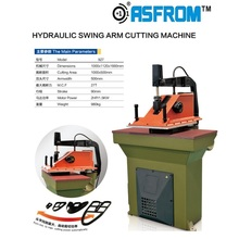 Automatic Shoes Making Used Hydraulic Swing Arm Die Cutting Machine