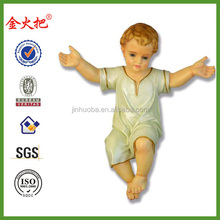 New product custom polyresin baby Jesus
