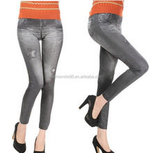 Korea design new sexy hot sale paypal accept leggings look like jeans