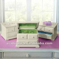 Europe style classical wood jewelry gift boxes
