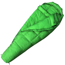 Air Inflatable Envelope Mummy sleeping bag with Comfortable temperature