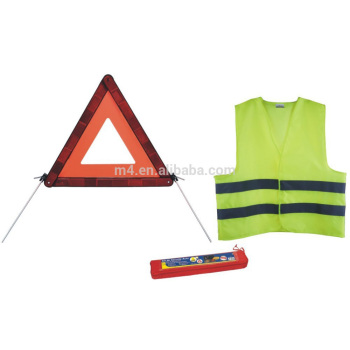Reflector Warning triangle & reflector vest pack