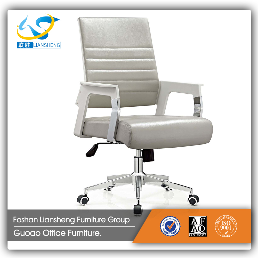Factory price modern middle back folded cheap leather office chair C613B-1